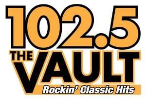 102.5 The Vault Logo