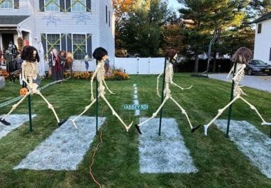 Awesome Beatles Halloween Display