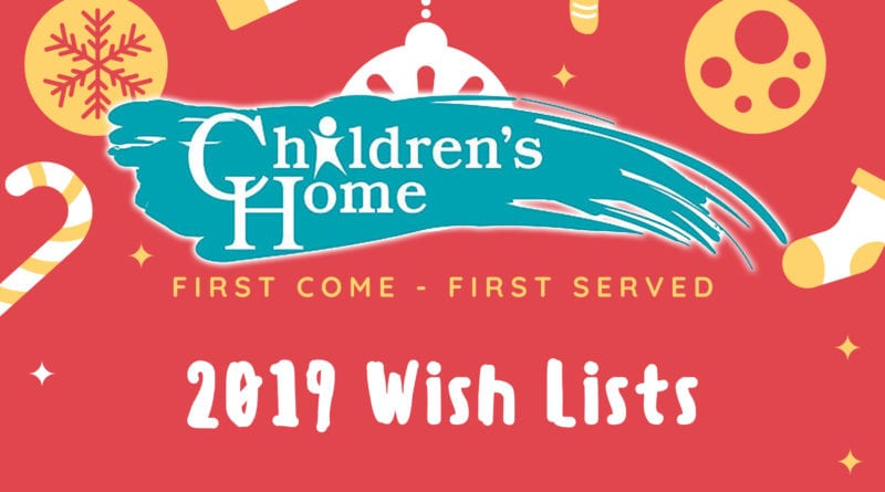 Children's Home Wish List 2019