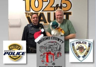 TOYS FOR TOTS WITH LOCAL LAW ENFORCEMENT AND 1025 THE VAULT