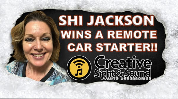 Shi Jackson Is December's Remote Car Starter Winner