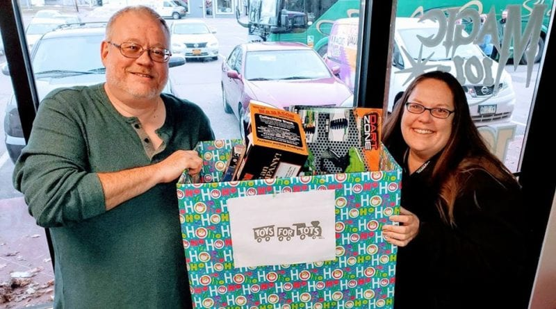 102.5 The Vault thanks all those who helped out our Toys for Tots toy drive on December 16th