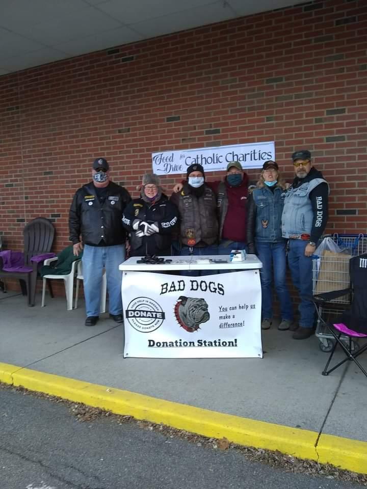 Bad Dogs Food Drive - November 21st