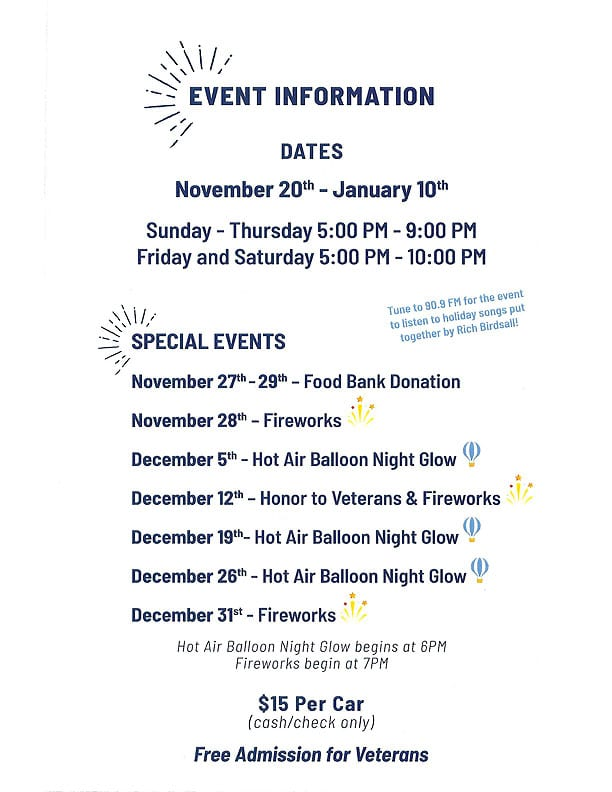 Broome County Festival of Lights 2020