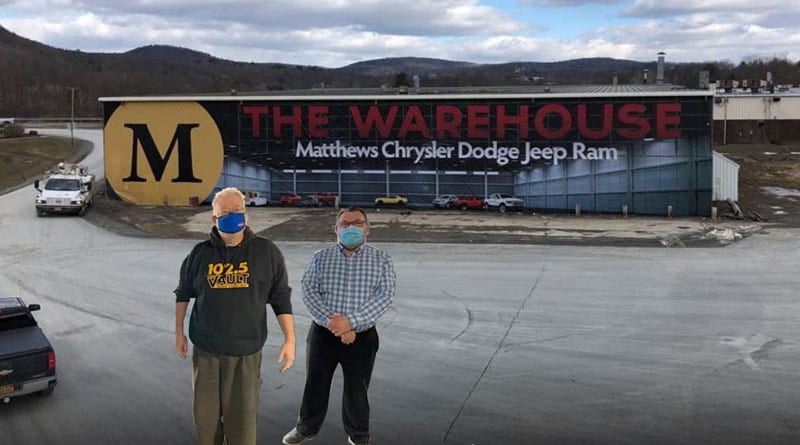 Tejay at Matthews Chrysler Dodge Jeep Ram Warehouse