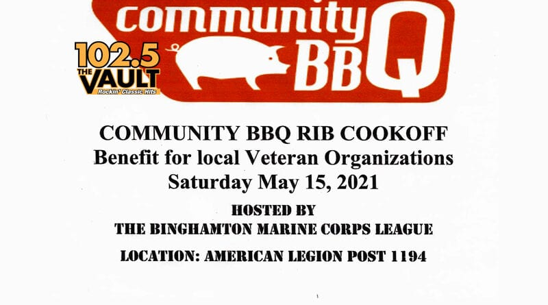 "Marine Corps League's ""People's Choice"" BBQ Rib Competition"