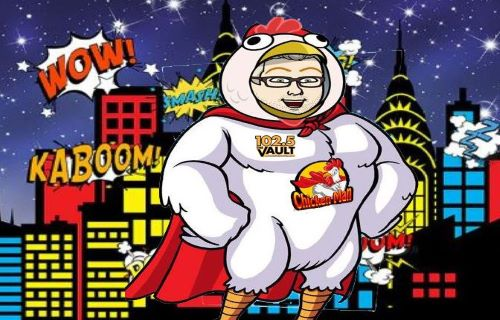 Adventures Of Chickenman on 102.5 The Vault