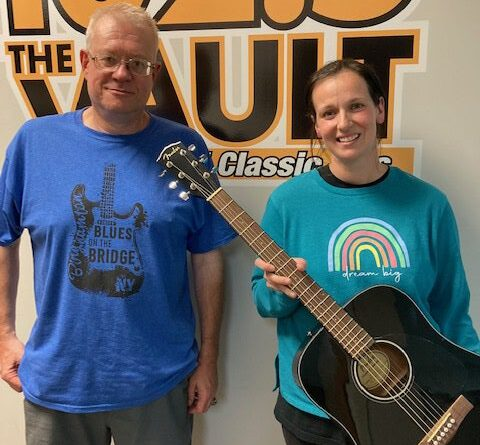 Congrats to Sarah Centerwall, winner the of The Blues On The Bridge Guitar